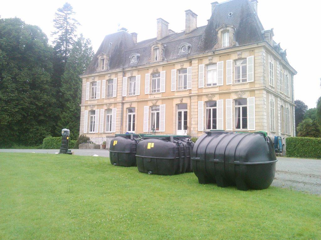 Assainissement d'un château, Filtre Compact Bionut 10 EH
