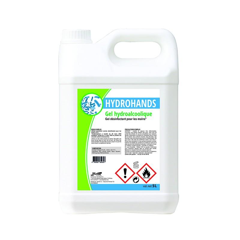 Gel Hydro alcoolique COVID-19