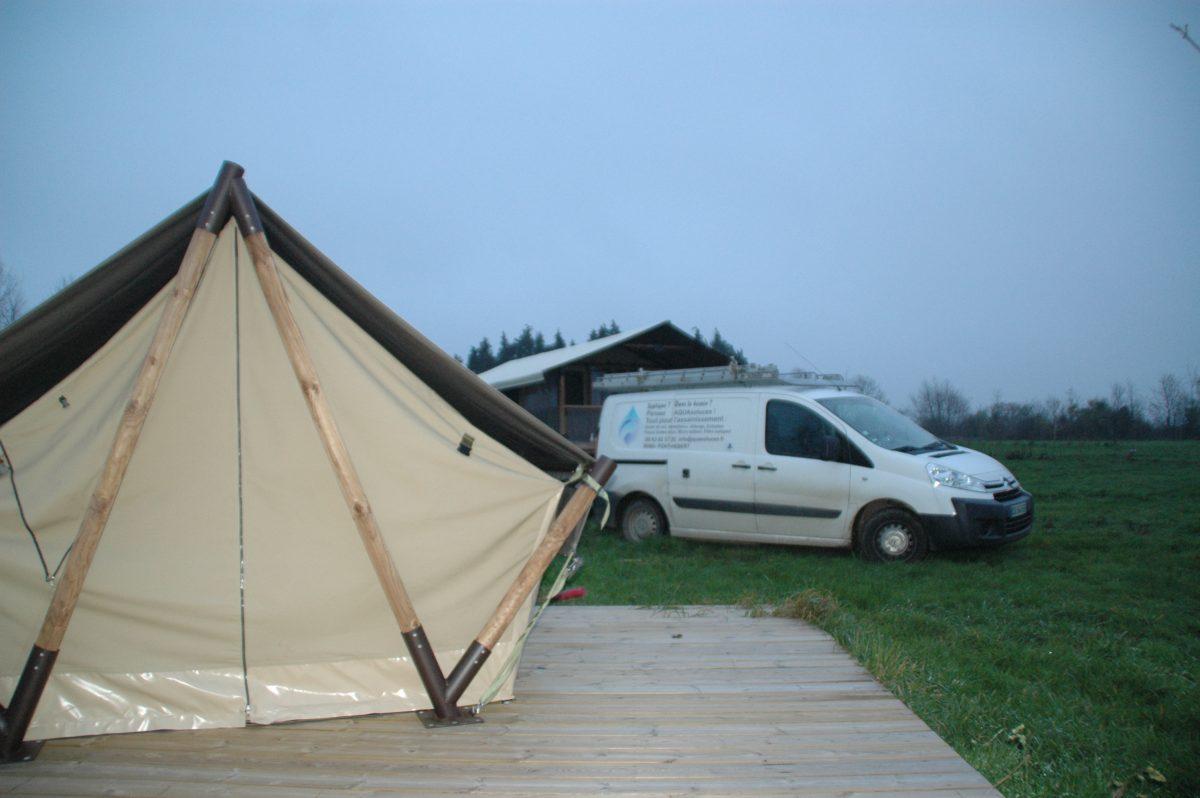 Assainissement pour Camping